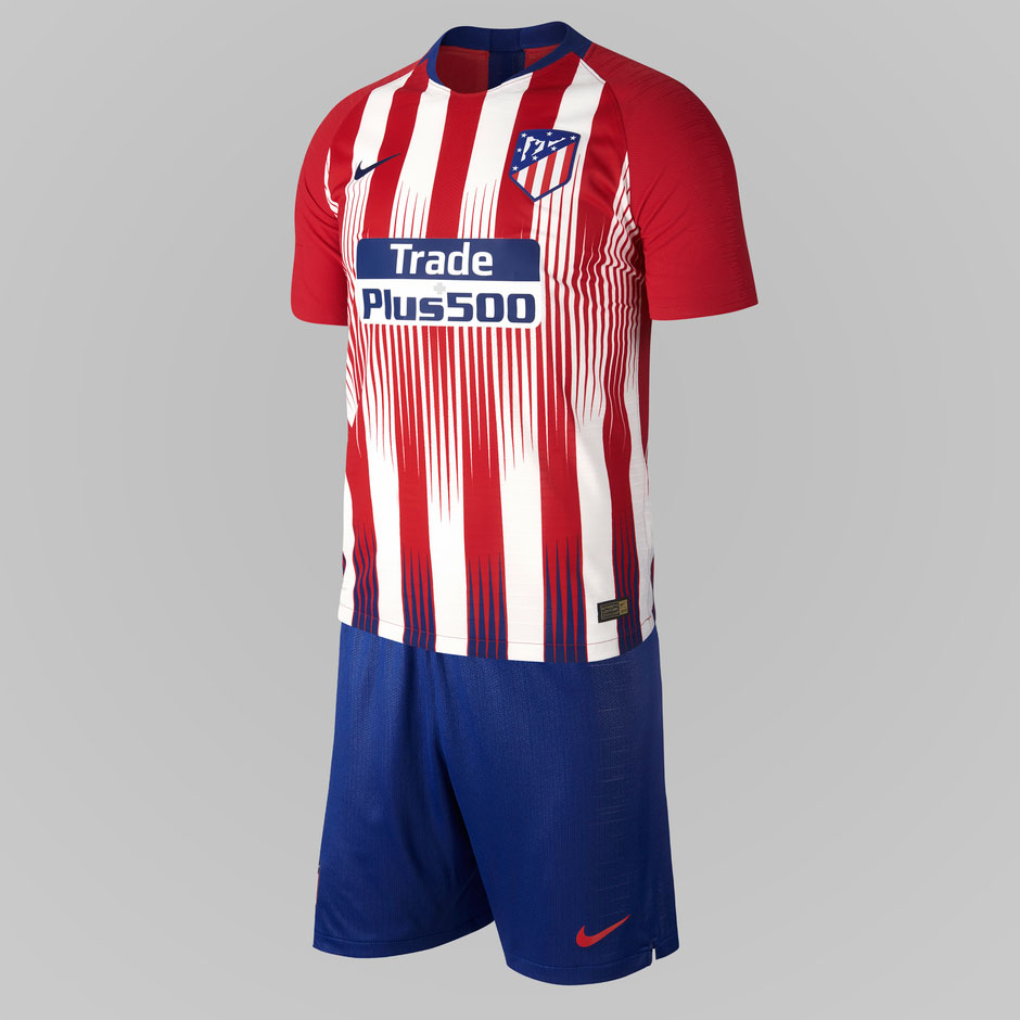 146352ece The home jersey of Atlético Madrid is designed to