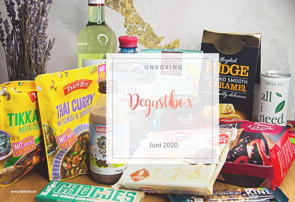 Degusta Box - Juni 2020 - unboxing