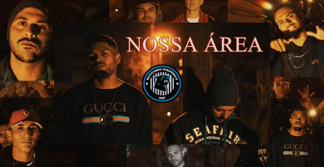 Nossa Área | Dos Santos, Muka QR, Padrinho e MC Ssander quebram tudo no Trap/Funk