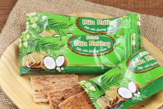 Bánh được làm từ bột nếp và dừa tươi