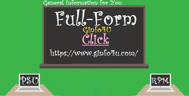 PSU-Full-Form-RPM-Full-Form-Part18-Ginfo4u