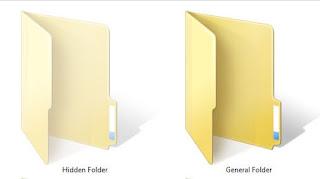 Cara Mengembalikan File dengan Hidden Folder