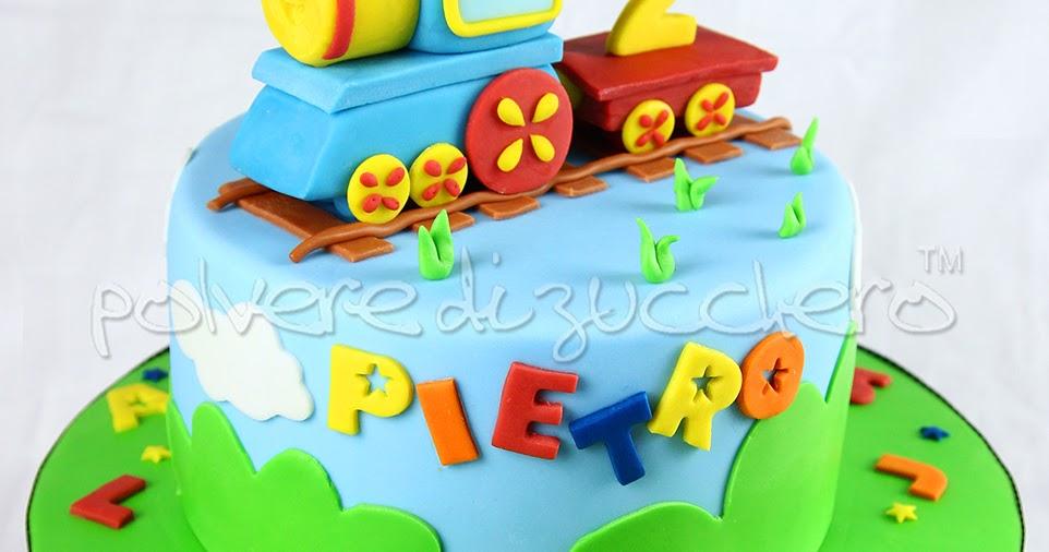 Torta decorata per il compleanno di un bimbo con