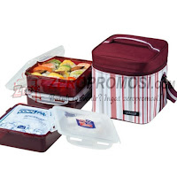 Lock & Lock family lunch box picnic HPL856DP