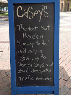 stairway to heaven pub sign funny win