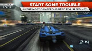 تحميل لعبة need for speed most wanted للاندرويد