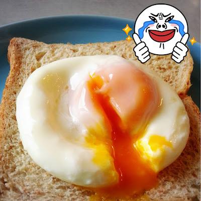Poached Egg ด้วยไมโครเวฟ