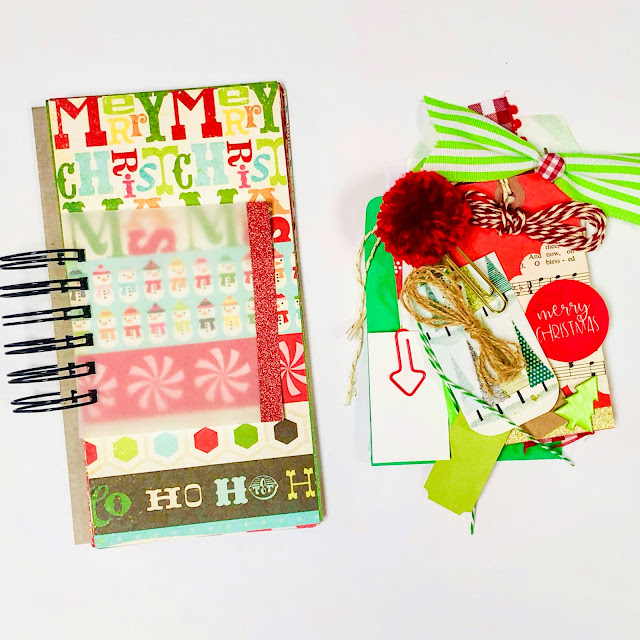 #mini book #mixed paper #journal #mini album #mixed paper journal  #list challenge  #30 Days Of Lists #30lists #lists #junk journaling