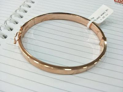 Gambar Perhiasan Gelang Emas Cartier Rose Gold Asli