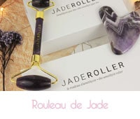 Jade roller rouleau amethyste