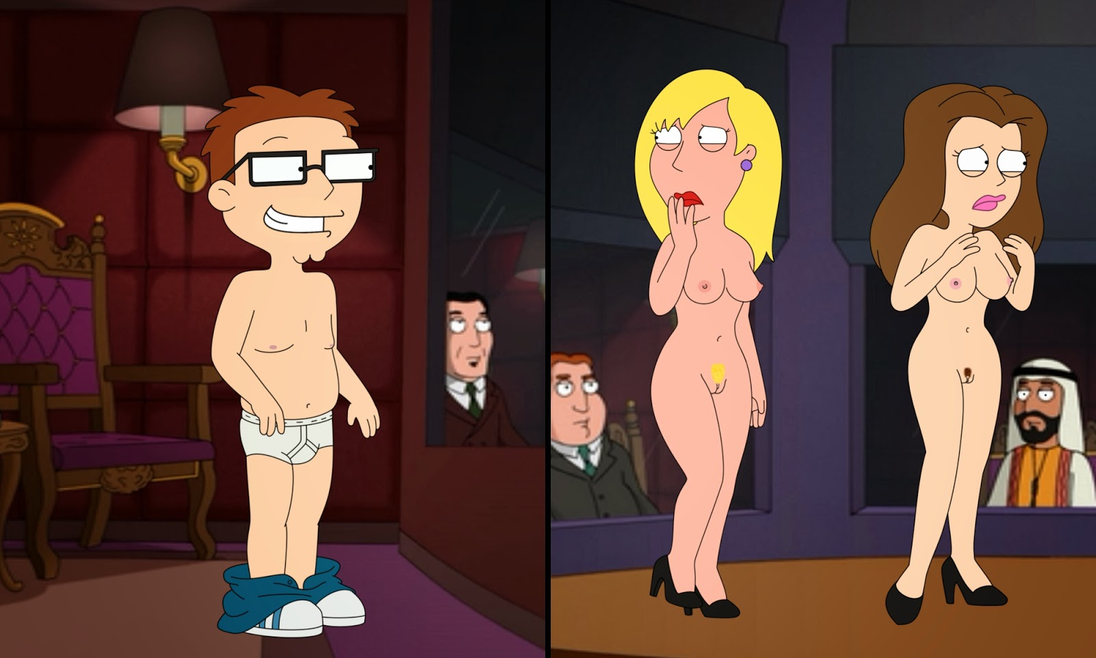 nude girls american dad