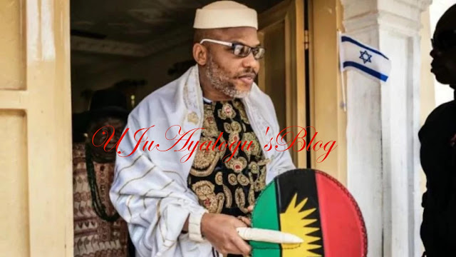 Anambra Community Threaten To Sue IPOB Leader, Nnamdi Kanu For Committing Taboo In Their Community