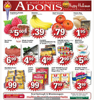 Marche Adonis Ontario Flyer October 26 - November 01, 2017