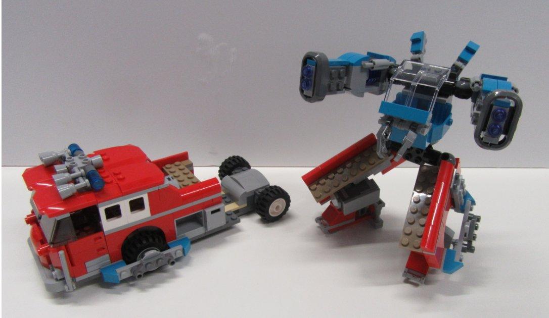 LEGO Hidden Side Camion dei pompieri Phantom 3000-70436