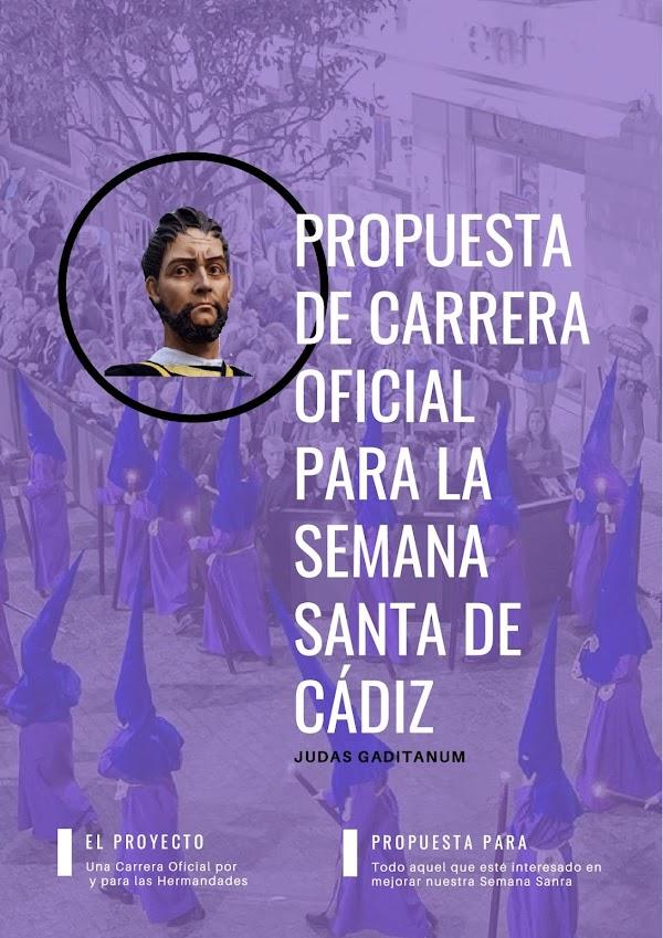 Nueva propuesta de Carrera Oficial para la Semana Santa de Cádiz