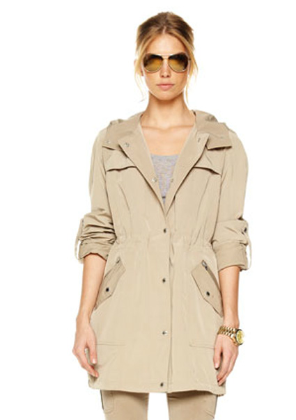 MICHAEL Michael Kors Anorak with hood   425  available here 7a972a9bd