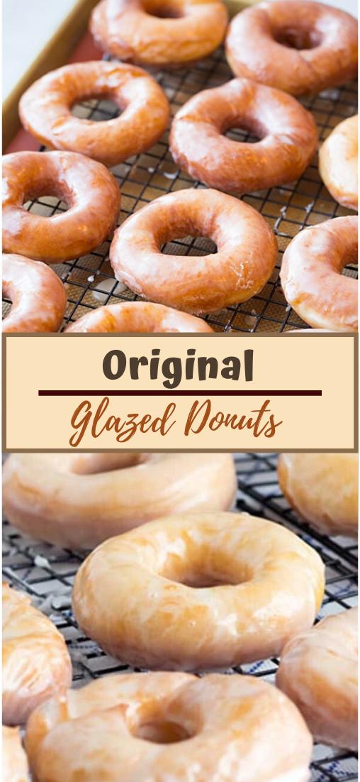 Original Glazed Donuts #desserts #cakerecipe #chocolate #fingerfood #easy