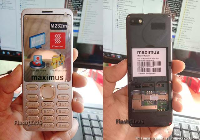 Maximus M232m Flash File