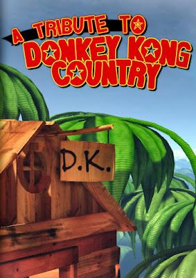 Capa do Donkey Kong Country Remasterizado