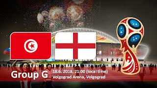 مشاهدة مباراة تونس و إنجلترا في كأس العالم 2018 بتاريخ 18-06-2018