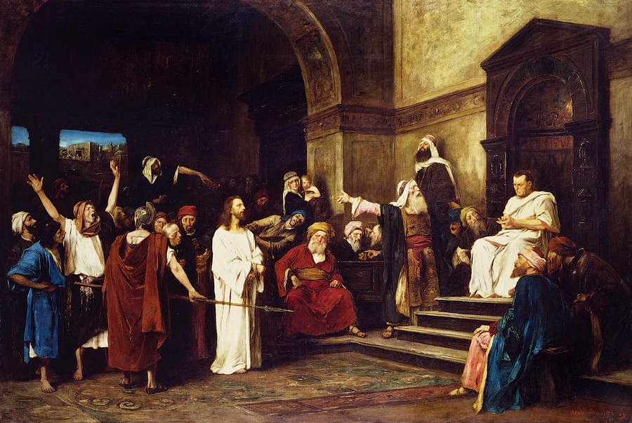 Christ Before Pilate, by Mihaly Munkacsy