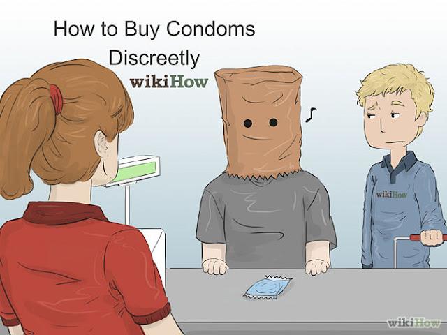 How to buy condoms
