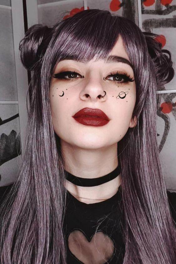 Maquillaje de Bruja tumblr ídeas - BY : QUEEN 11:11
