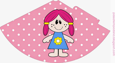 Dolls: Free Party Printables.