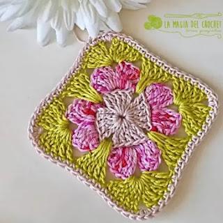 Granny Floral a Crochet