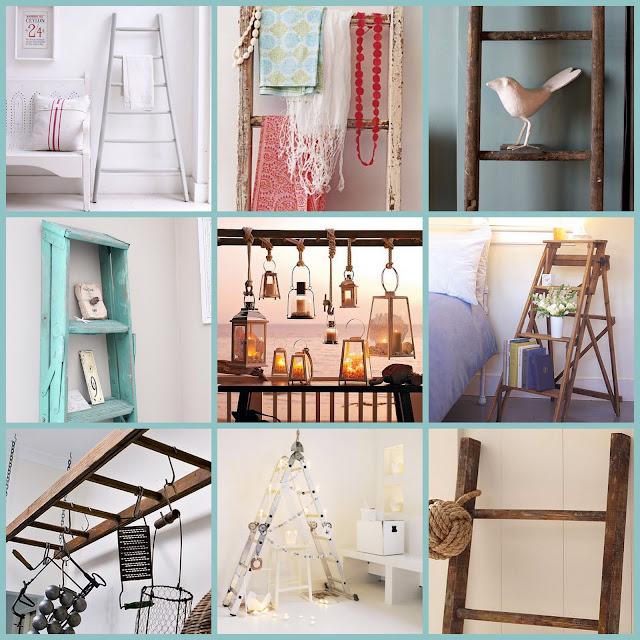Seeit Loveit Ladders As Decor