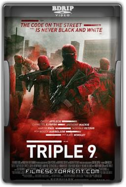 Triple 9 Torrent DVDRip Dual Áudio 2016
