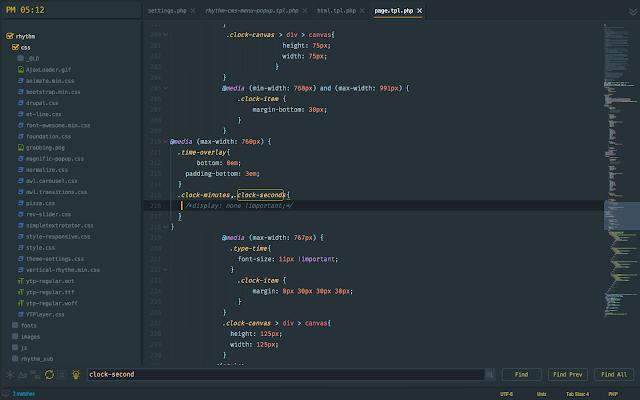 Guna, le meilleur thème adaptatif pour Sublime Text 3, A Unix Mind In A Windows World