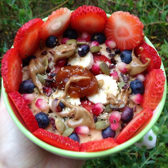 Creamy Pumpkin Spice Quinoa Flakes Porridge (Gluten Free, Vegan)