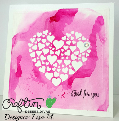 Created In The Crafting Cave with Lisa using Craftin Desert Divas Products January Release