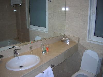 Baño Hotel NH City & Tower, Buenos Aires, Argentina, vuelta al mundo, round the world, La vuelta al mundo de Asun y Ricardo