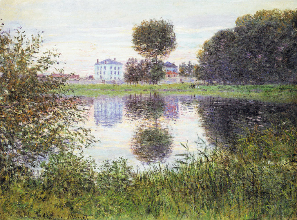 The ball-shaped Tree, Argenteuil (1876) by Claude Monet - UK culture blog