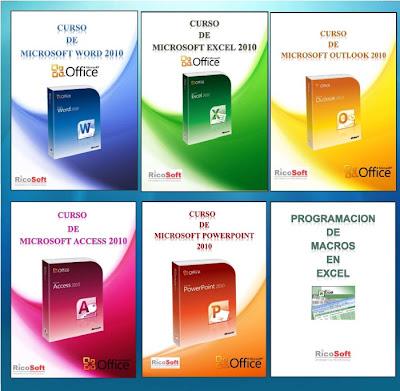 Cursos de Microsoft Word, Excel, Outlook, PowerPoint y Access 2010