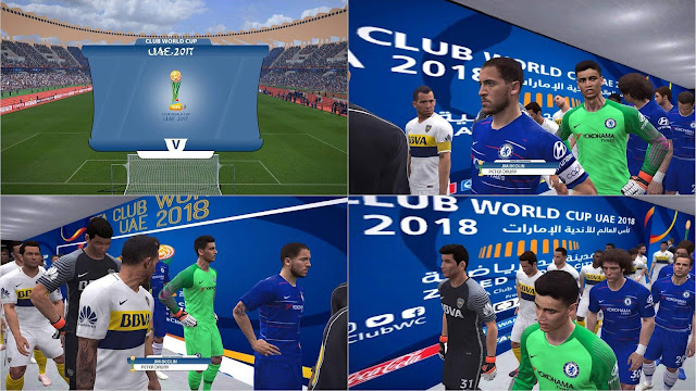 PES 2017 Stadiums and Tunnel by NaN RiddLe 08