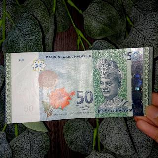 Giveaway,menang contest,hadiah dari blogger,DUIT RM50,