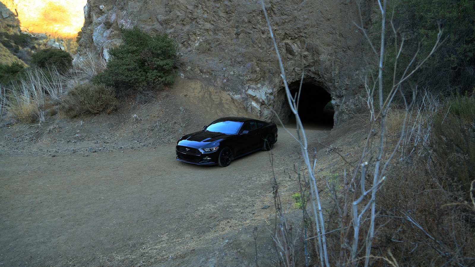 2015 Mustang Goes All Na Na Na Batman With 1966 Batcave
