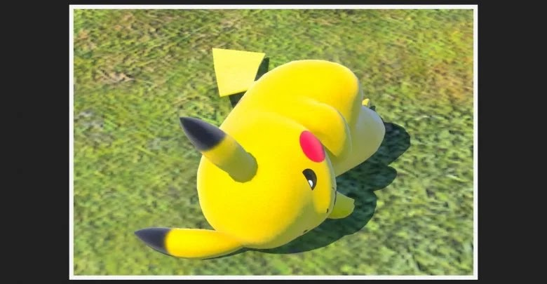 Camp Photodex in New Pokémon Snap