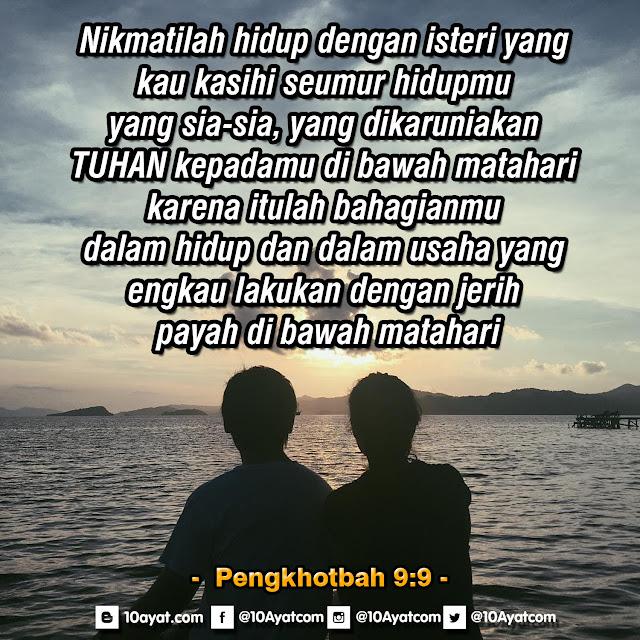 Pengkhotbah 9:9