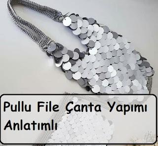 Pullu File Çanta Yapımı Anlatımlı