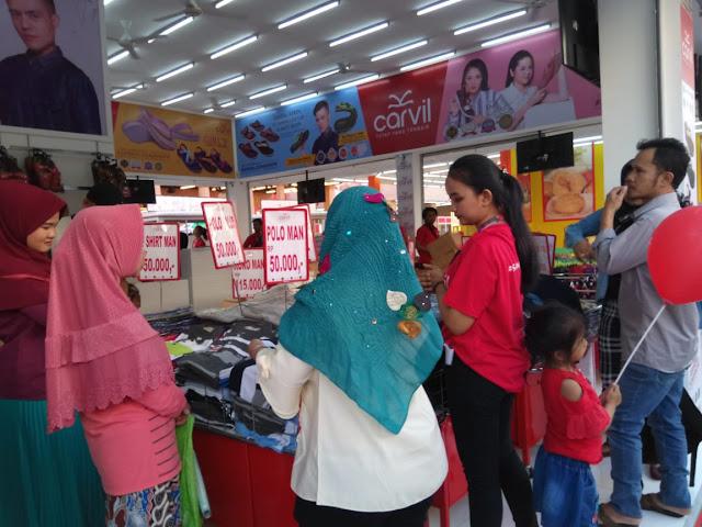 Sale di Jakarta fair