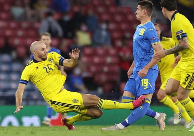 Euro 2020: Ukraine Beat Sweden With Last-Gasp Extra-Time Winner To Set Up England Q'final