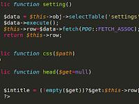 Tutorial PHP : Return Nilai Fetch Menjadi Public Variabel