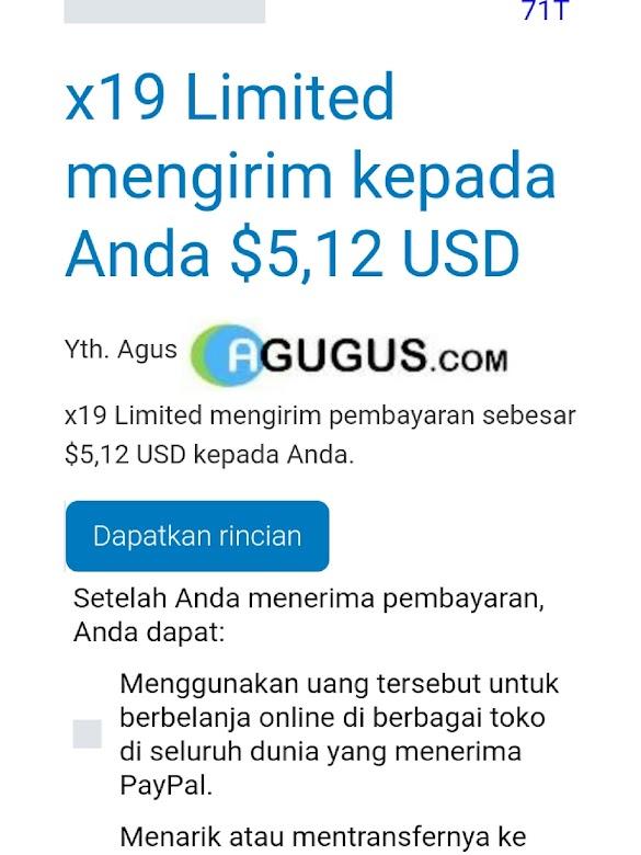 Cara saya mendapatkan $5 USD dari Publisher Adfly