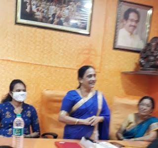 परिवार के लिए वरदान है महिला बचत गट -- पूजा महाडेश्वर  | #NayaSaberaNetwork