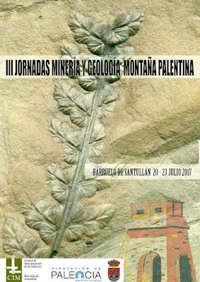 III Jornadas de Minería y Geología Montaña Palentina 2017