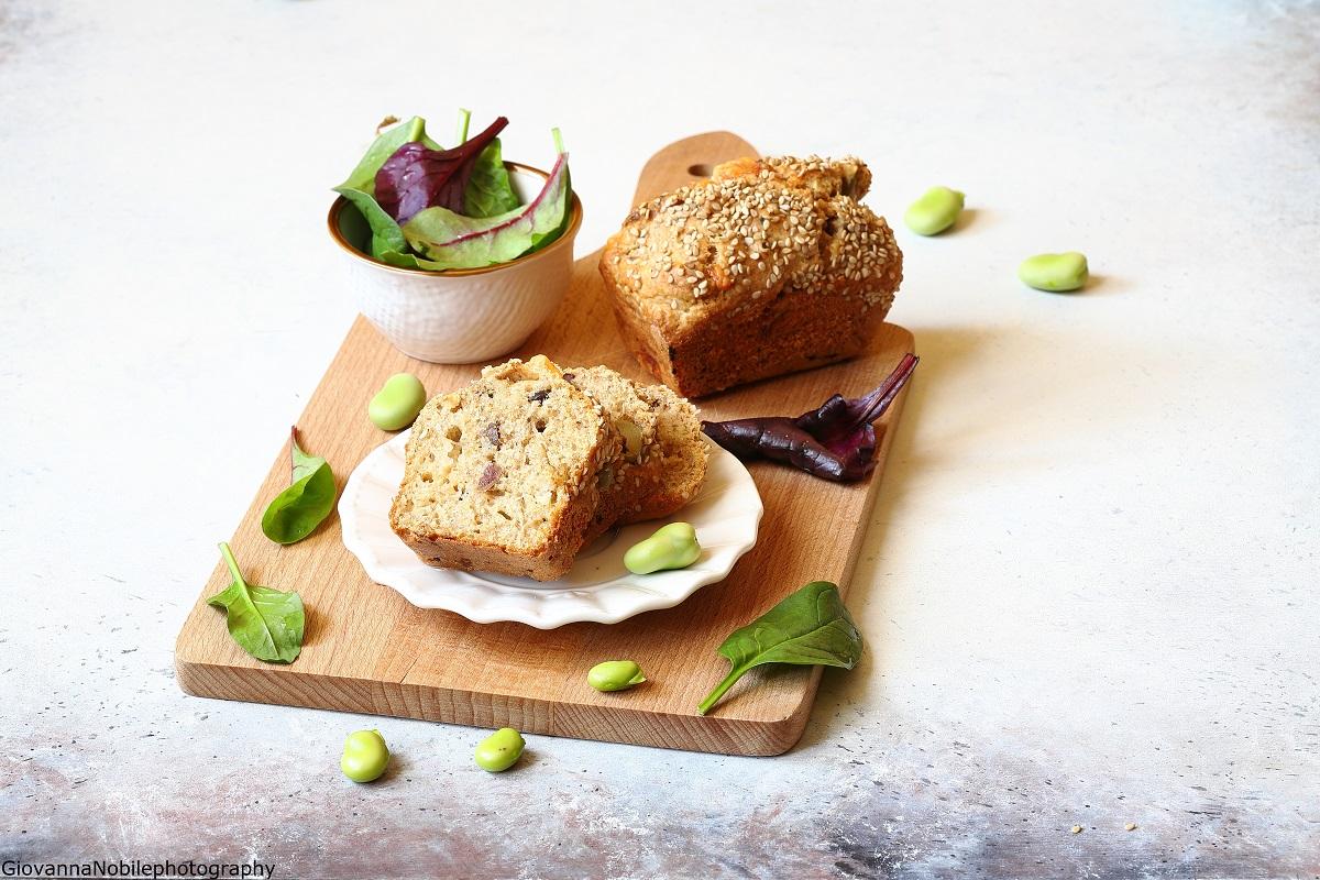 Mini cake con provolone e funghi secchi